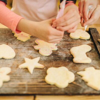 selber gebackene Kekse